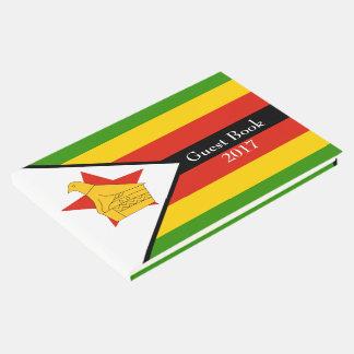 Drapeau du Zimbabwe Afrique Livre D'or