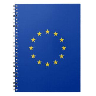 Drapeau d'UE Carnet