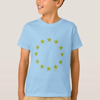 Drapeau d'UE (Union européenne) T-shirt