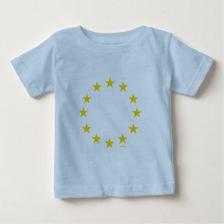 Drapeau d'UE (Union européenne) T-shirt Pour Bébé