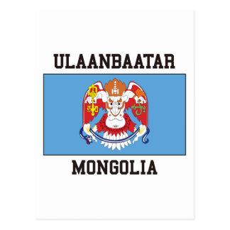 Drapeau d'Ulaanbaatar Carte Postale