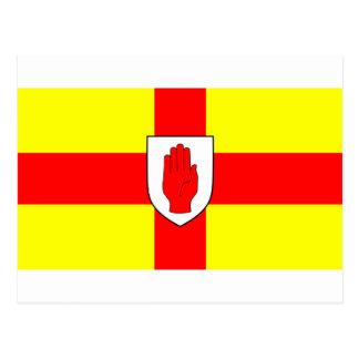 Drapeau d'Ulster - l'Irlande du Nord Cartes Postales
