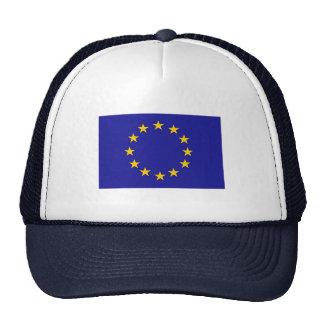 Drapeau d'Union européenne Casquettes De Camionneur