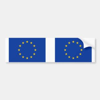 Drapeau d'Union européenne d'E. - Autocollant De Voiture