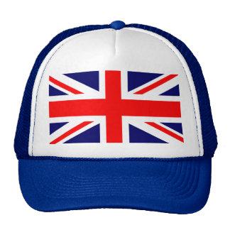 Drapeau d'Union Jack les Anglais Casquette Trucker