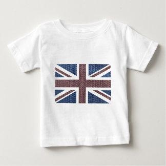 Drapeau d'Union Jack les Anglais (R-U) de motif de T-shirts