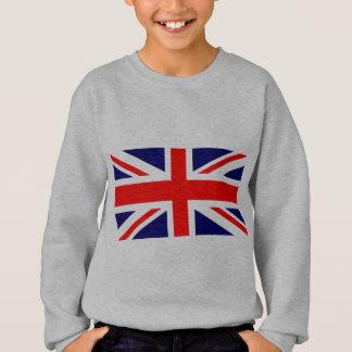 Drapeau d'Union Jack les Anglais Sweatshirt