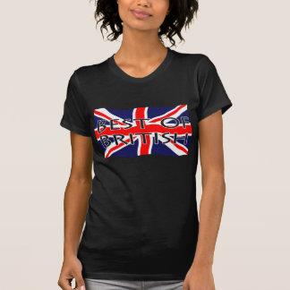 Drapeau d'Union Jack - meilleur des Anglais T-shirt