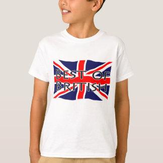 Drapeau d'Union Jack - meilleur des Anglais T-shirts