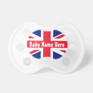 Drapeau d'Union Jack Royaume-Uni les Anglais Sucettes Pour Bébé