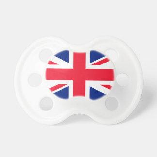 Drapeau d'Union Jack Royaume-Uni les Anglais Tétine Pour Bébé