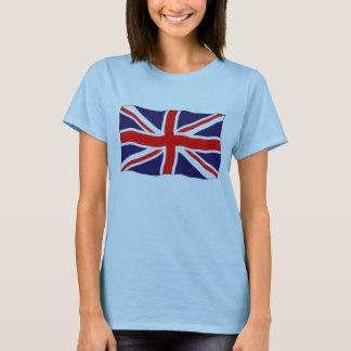 Drapeau d'Union Jack - simple et Personalizable T-shirt