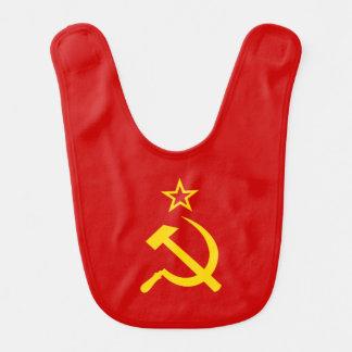 Drapeau d'Union Soviétique Bavoirs Pour Bébé