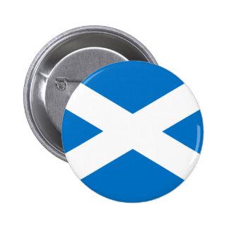 Drapeau écossais badge rond 5 cm