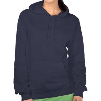Drapeau écossais grunge sweatshirt à capuche