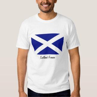 Drapeau écossais t-shirts