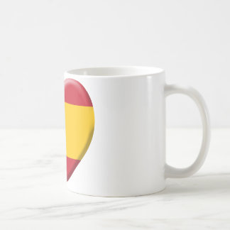 Drapeau Espagne Mug Blanc