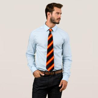 Drapeau espagnol de couleurs cravates