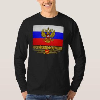Drapeau et emblème de Fédération de Russie T-shirt