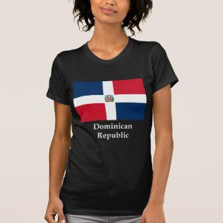 Drapeau et nom de la République Dominicaine T-shirts