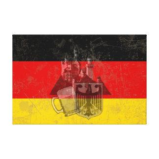 Drapeau et symboles de l'Allemagne ID152 Toile