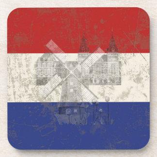 Drapeau et symboles de Pays-Bas ID151 Dessous-de-verre