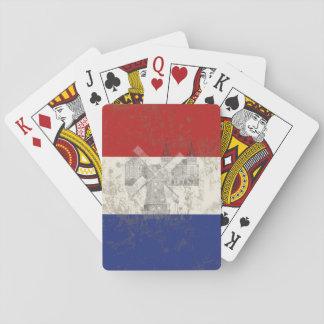 Drapeau et symboles de Pays-Bas ID151 Jeu De Cartes