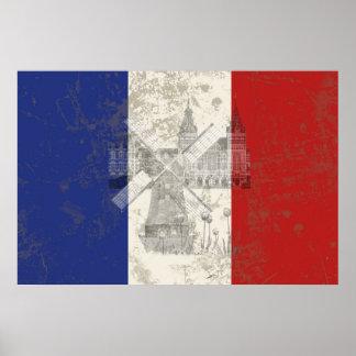 Drapeau et symboles de Pays-Bas ID151 Poster