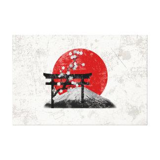 Drapeau et symboles du Japon ID153 Toile