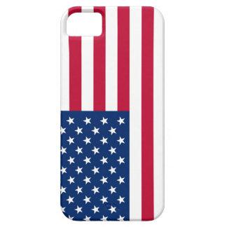 Drapeau Etats-Unis américains de l'Amérique Coque Barely There iPhone 5