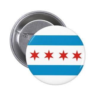 drapeau Etats-Unis Amérique de ville de Chicago Badges