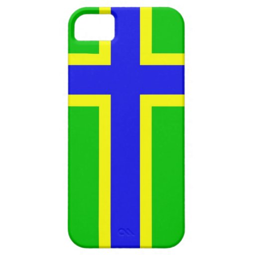 drapeau ethnique Baltique Scandinavie de vepsia Coques iPhone 5