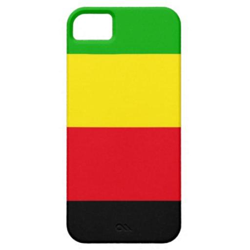 Drapeau ethnique de mouvement national de tribu de coques iPhone 5