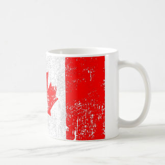 Drapeau fané du Canada Mug