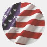 Drapeau fier et patriotique des Etats-Unis Adhésifs
