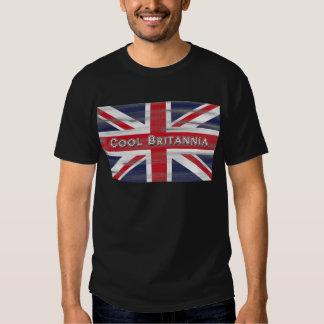 Drapeau frais de Britannia les Anglais T-shirts