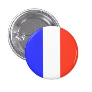 Drapeau français badge rond 2,50 cm