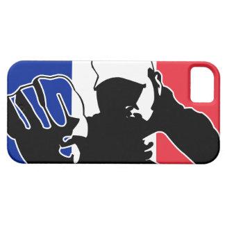 drapeau français / combat coque Case-Mate iPhone 5