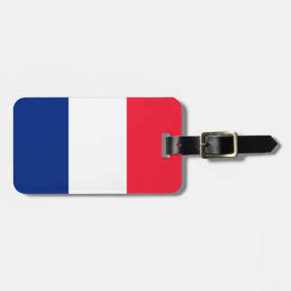 Drapeau français étiquettes bagages