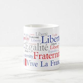 Drapeau français - Liberté, Égalité, Fraternité Mug