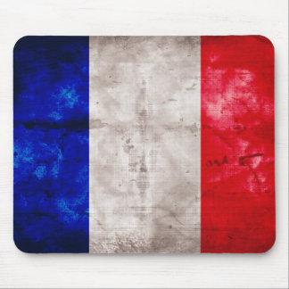 Drapeau français tapis de souris
