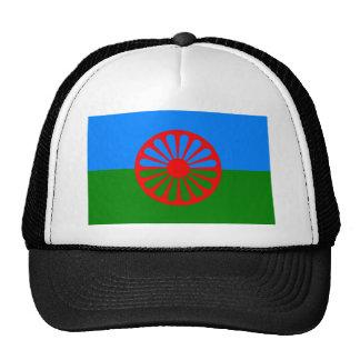 Drapeau gitan bohémien officiel casquette de camionneur
