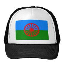 Drapeau gitan bohémien officiel casquettes