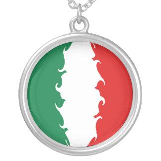 Drapeau Gnarly de l Italie Collier Personnalisé