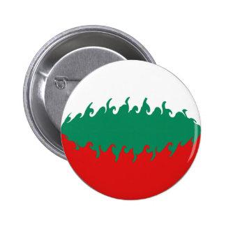 Drapeau Gnarly de la Bulgarie Badge Rond 5 Cm