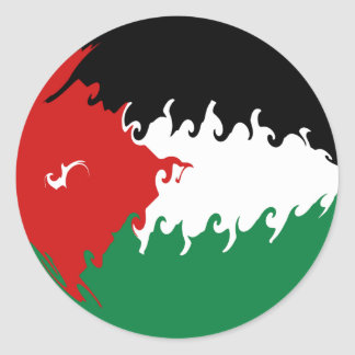 Drapeau Gnarly de la Jordanie
