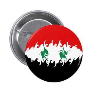 Drapeau Gnarly de la Syrie Badge Avec Épingle