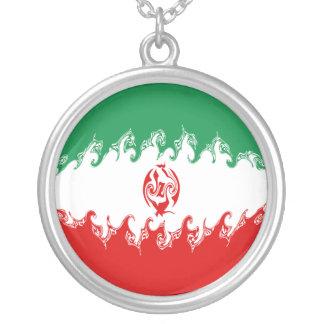Drapeau Gnarly de l'Iran Colliers