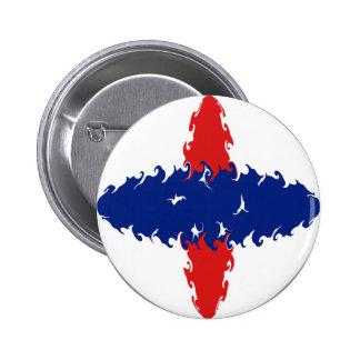 Drapeau Gnarly des Antilles néerlandaises Badges
