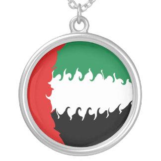 Drapeau Gnarly des Emirats Arabes Unis Pendentifs